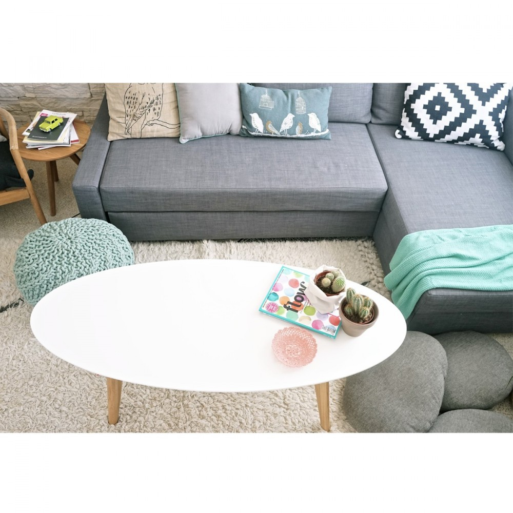 table basse ovale blanche stunning conceptions de table basse populaires table basse ovale. Black Bedroom Furniture Sets. Home Design Ideas