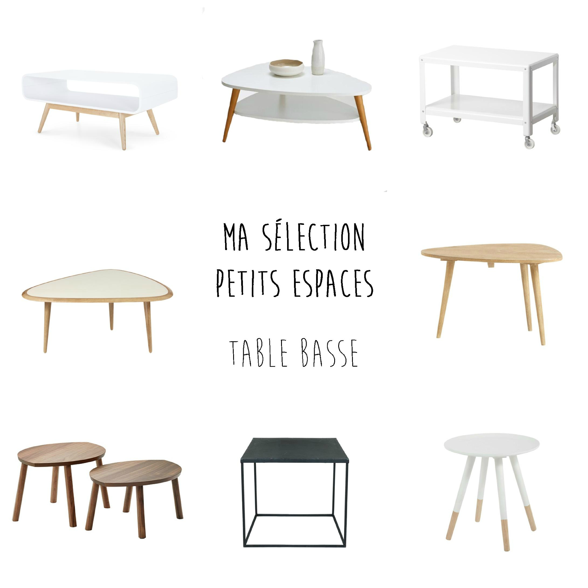 Table basse pour petit salon id es de d coration for Table basse pour petit salon