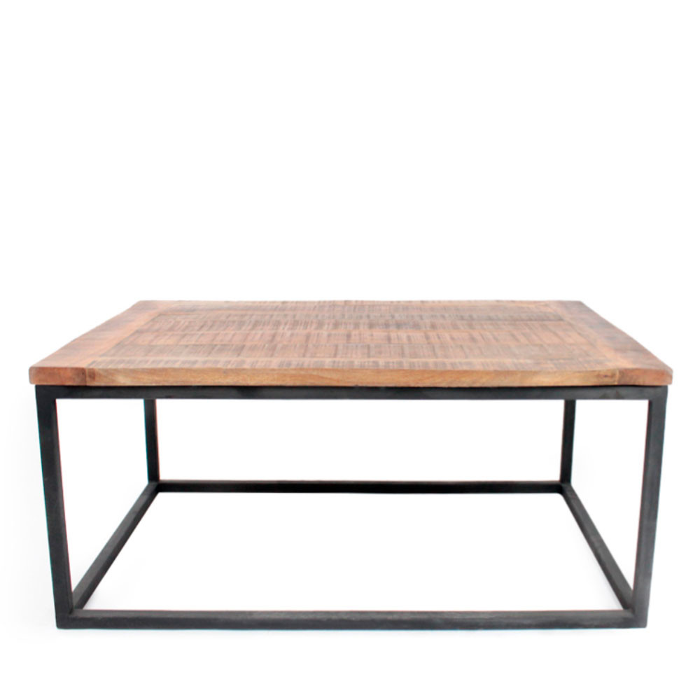 Table basse ronde bois metal 19 id es de d coration - Table basse metal ronde ...