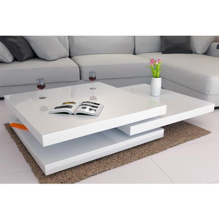 table basse salon moderne