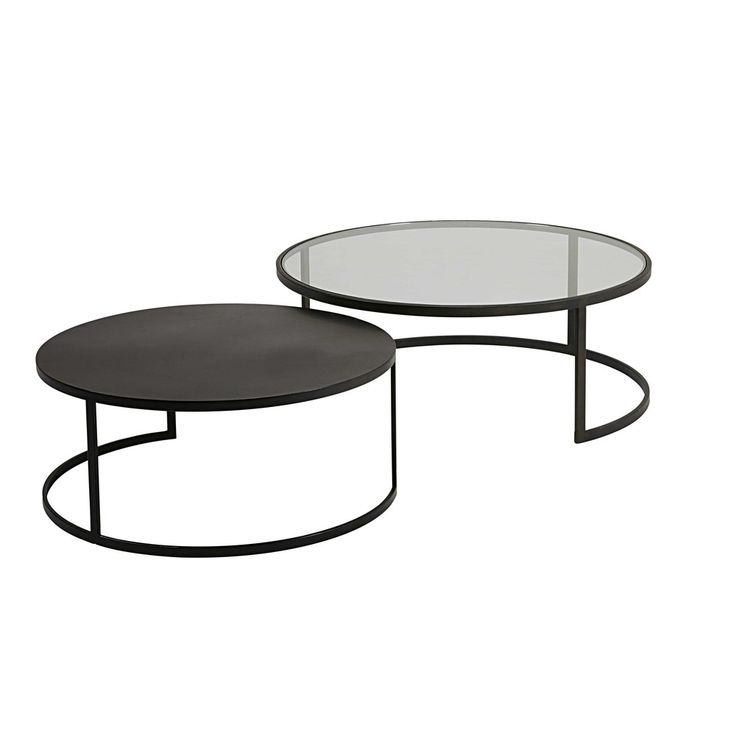 Table Basse Verre Et Metal Noir 10 Id Es De D Coration Int Rieure French Decor