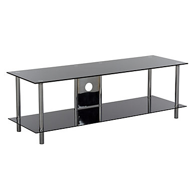 Table de tele en verre 15 id es de d coration int rieure for Table de tele