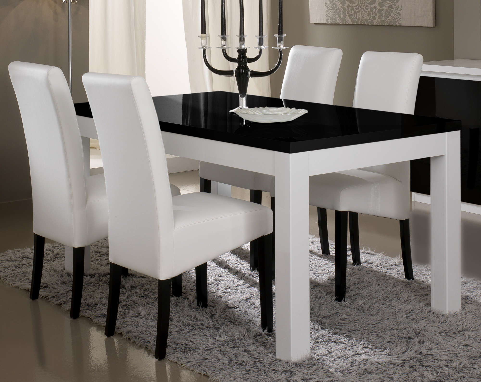 table et chaise salle a manger moderne id es de. Black Bedroom Furniture Sets. Home Design Ideas