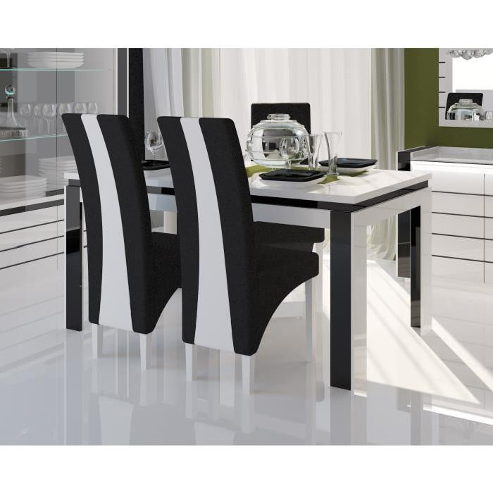 Table et chaise salle a manger moderne id es de for Table et chaise moderne