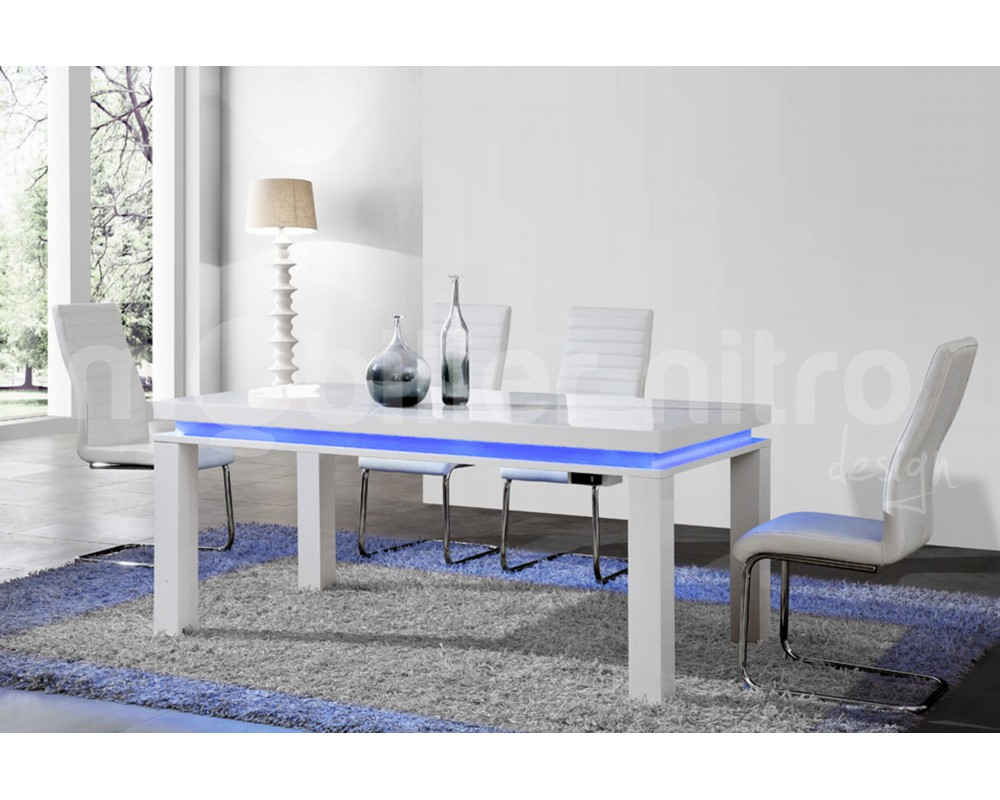 Table salon laque blanc 5 id es de d coration int rieure for Table salon laque blanc