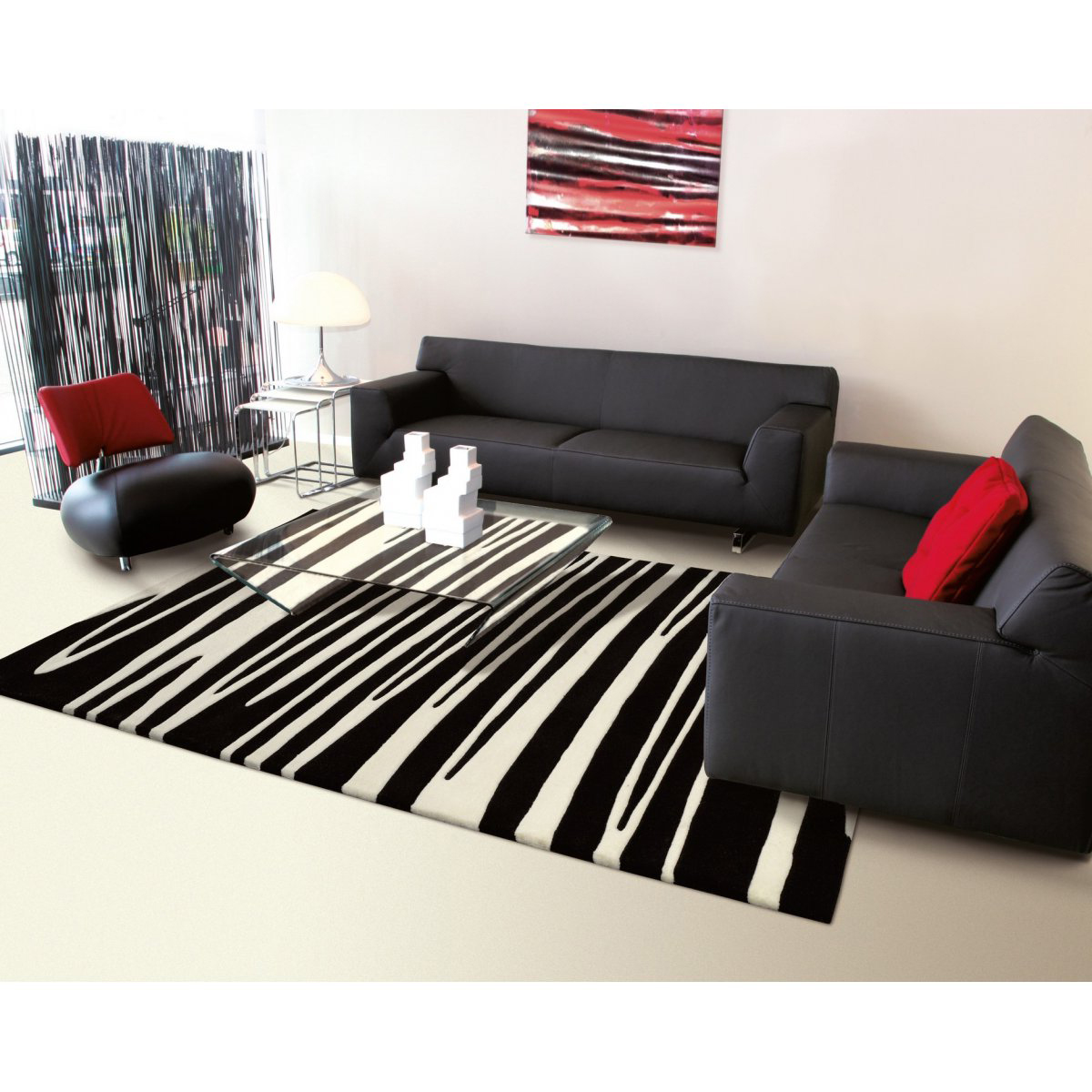 tapis design pas cher 13 id es de d coration int rieure. Black Bedroom Furniture Sets. Home Design Ideas