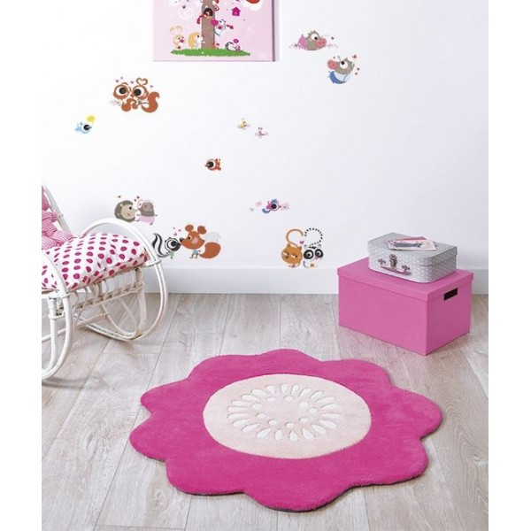 Tapis fushia 6 id es de d coration int rieure french decor for Decoration maison fushia