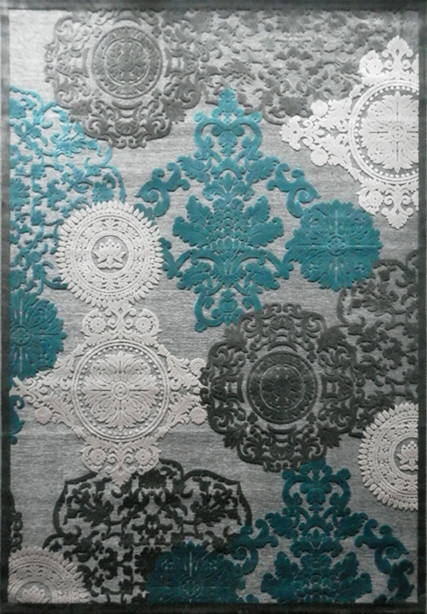 tapis gris bleu id es de d coration int rieure french. Black Bedroom Furniture Sets. Home Design Ideas