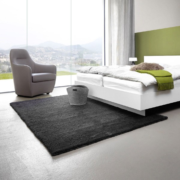 tapis gris fonc id es de d coration int rieure french. Black Bedroom Furniture Sets. Home Design Ideas