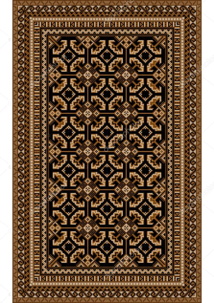 tapis marron et beige id es de d coration int rieure french decor. Black Bedroom Furniture Sets. Home Design Ideas