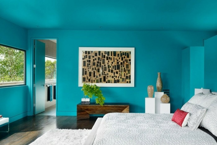tapis bleu turquoise chambre id es de d coration int rieure french decor. Black Bedroom Furniture Sets. Home Design Ideas