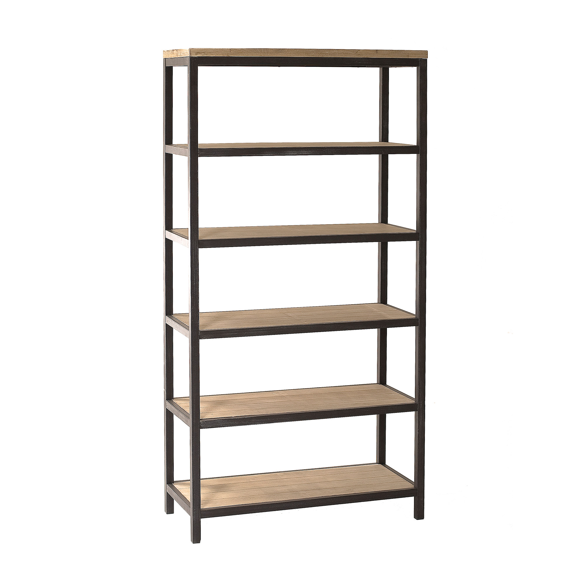 Etagere bois et metal id es de d coration int rieure french decor for Etagere murale aluminium