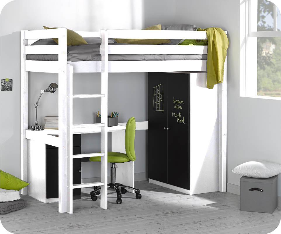 lit mezzanine enfant id es de d coration int rieure. Black Bedroom Furniture Sets. Home Design Ideas