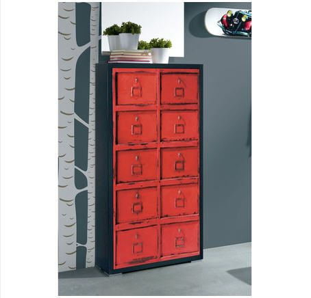 meuble chaussures rouge 12 id es de d coration int rieure french decor. Black Bedroom Furniture Sets. Home Design Ideas