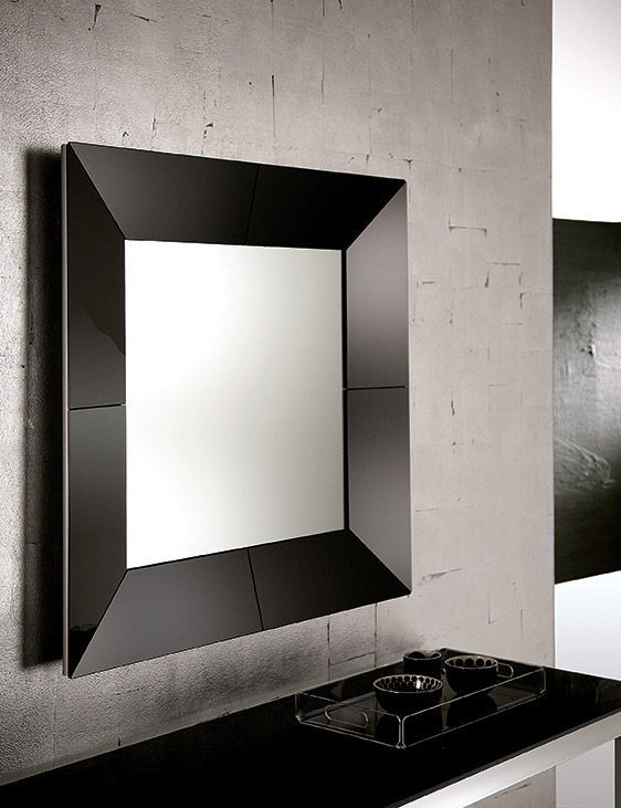 miroir mural noir id es de d coration int rieure french decor