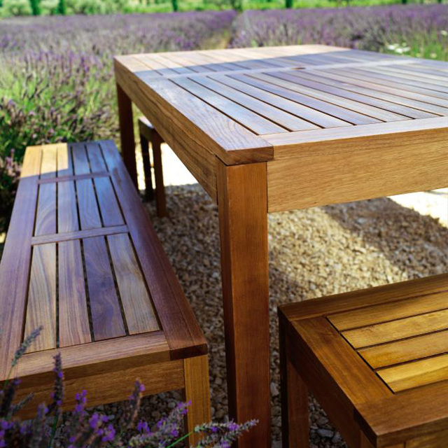 Banc Table Jardin