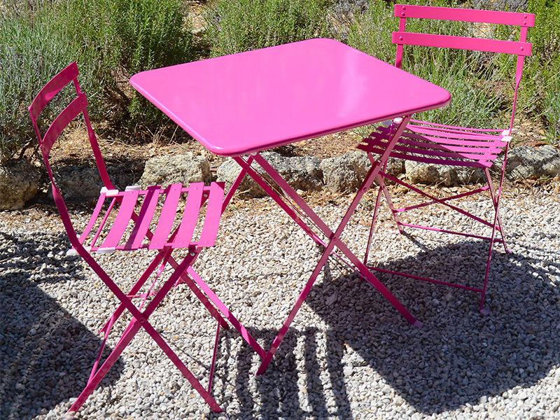 Stunning table de jardin metal solde images amazing - Table de jardin solde ...