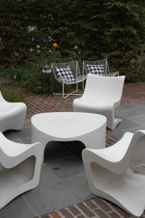Best Salon De Jardin Blanc Pvc Images - House Design ...