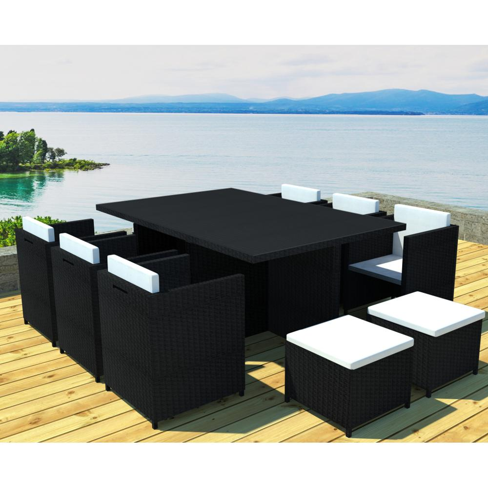 salon de jardin en resine noir id es de d coration int rieure french decor. Black Bedroom Furniture Sets. Home Design Ideas