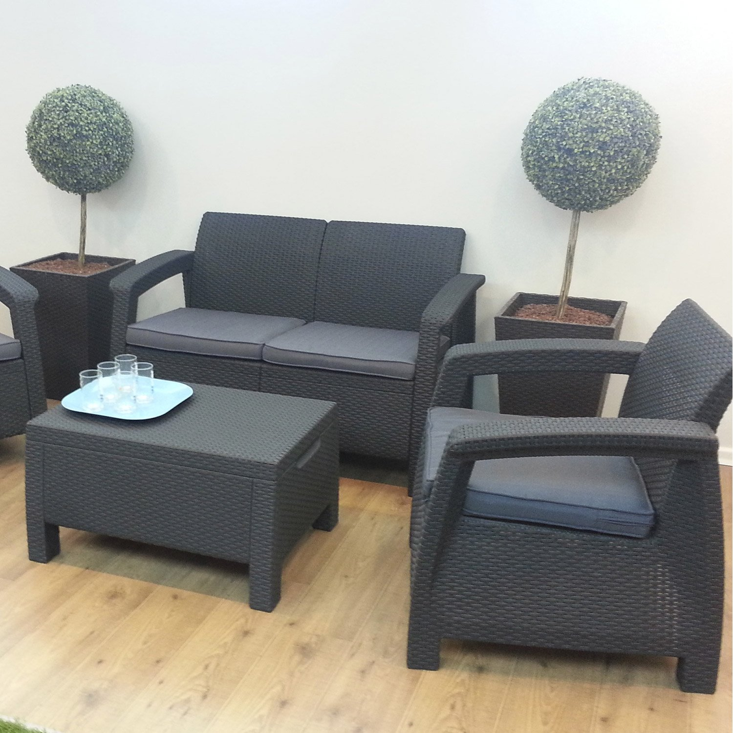 salon de jardin gris anthracite pas cher id es de d coration int rieure french decor. Black Bedroom Furniture Sets. Home Design Ideas