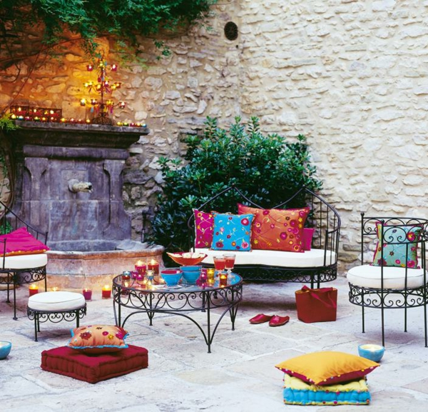 salon de jardin marocain id es de d coration int rieure french decor. Black Bedroom Furniture Sets. Home Design Ideas