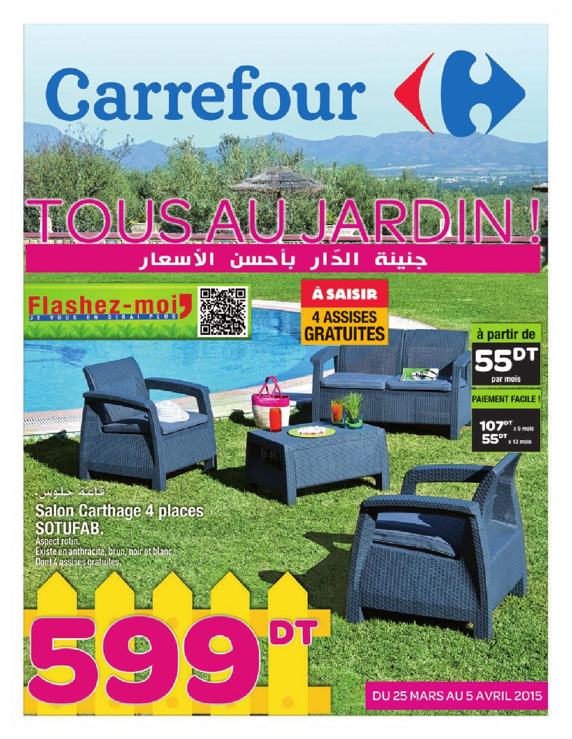 Salon de jardin plastique carrefour id es de d coration for Catalogue carrefour salon de jardin