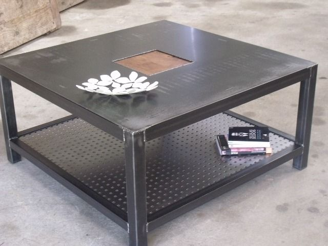 Table Basse En Fer.Table Basse Fer Table Basse 80x80 Df Helicopters