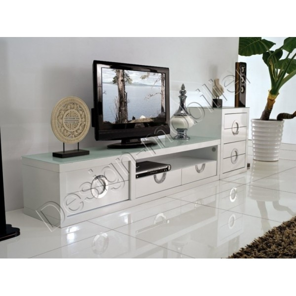 table de television id es de d coration int rieure. Black Bedroom Furniture Sets. Home Design Ideas