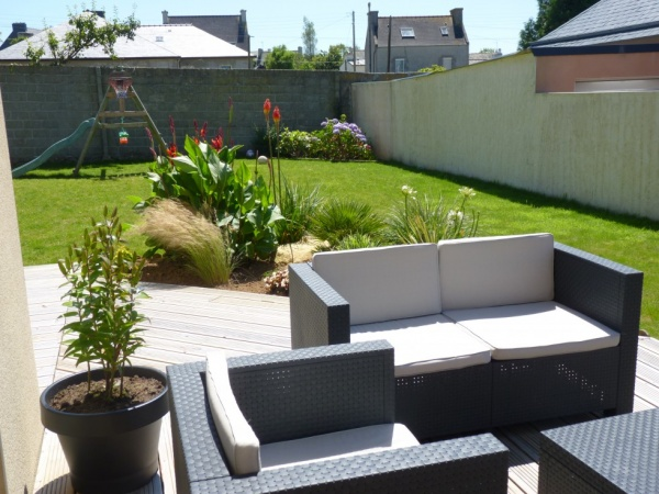Idee Decoration Terrasse. Simple Modele De Terrasse Bois Idee Deco ...