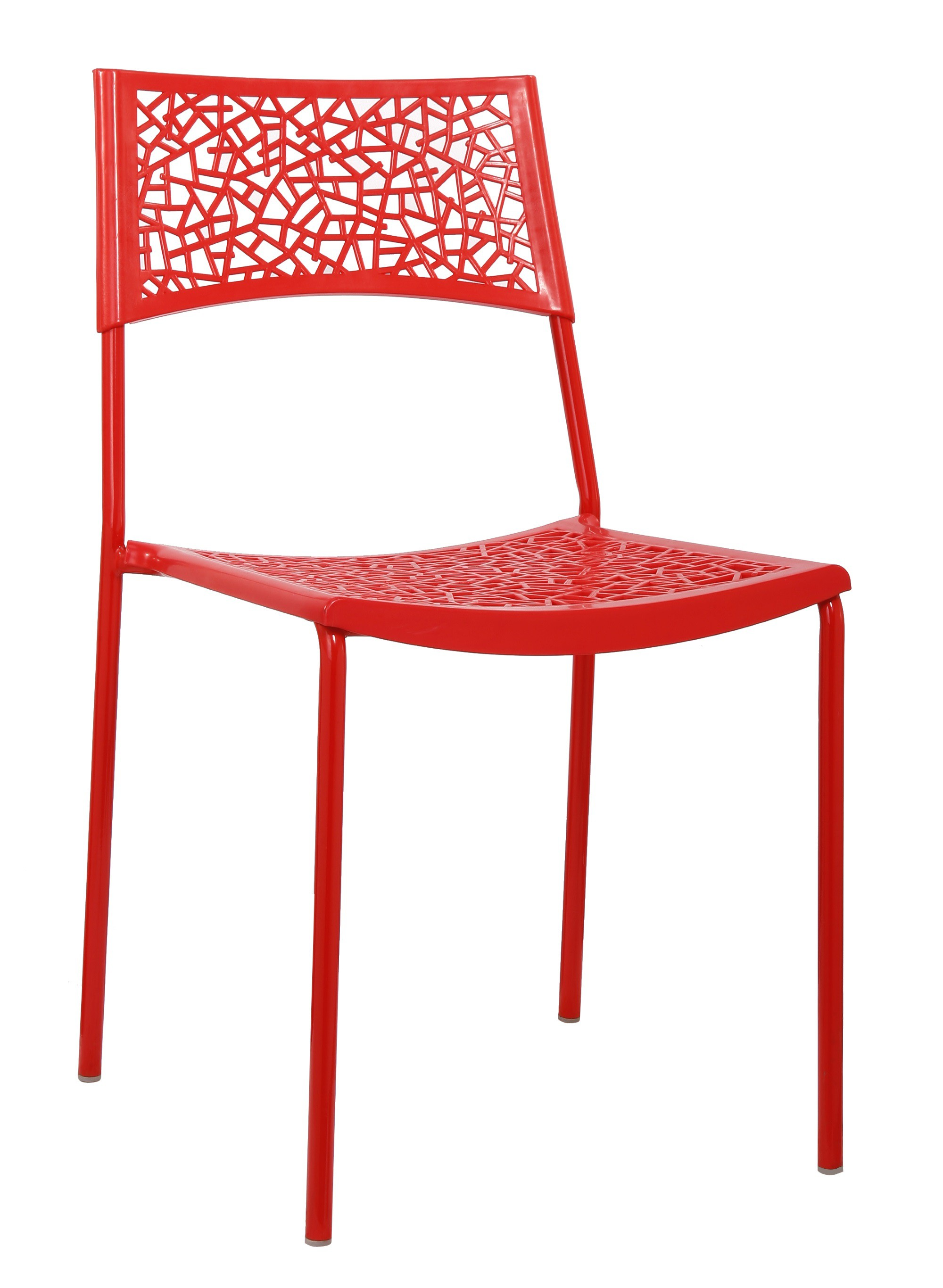 chaise cuisine rouge