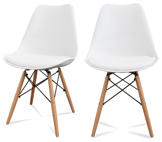 chaises blanches scandinaves - Chaise Blanche Scandinave