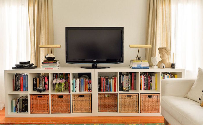 meuble tv etagere id es de d coration int rieure french decor. Black Bedroom Furniture Sets. Home Design Ideas