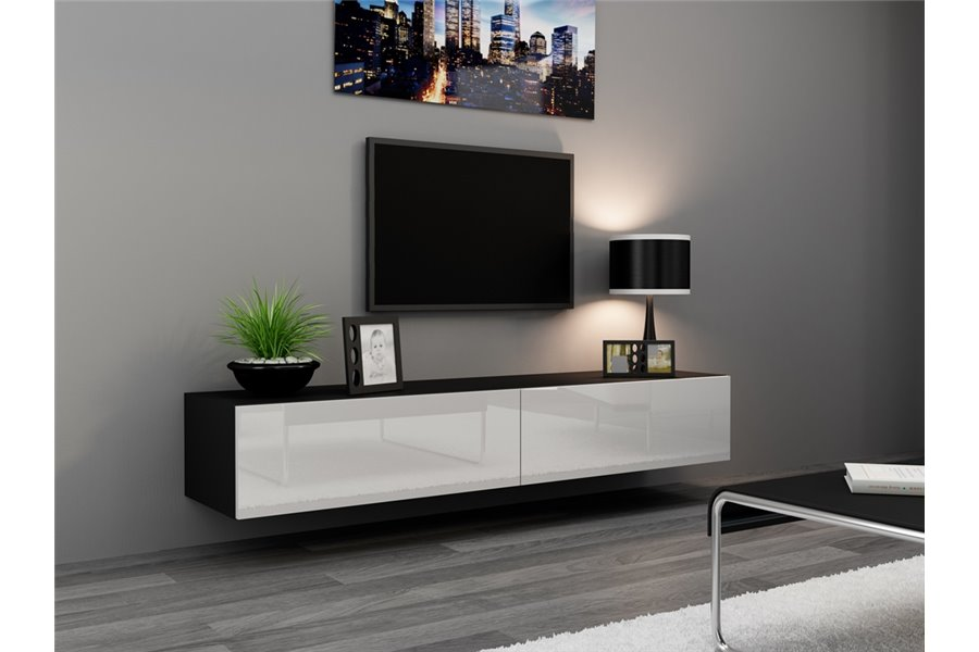 meuble tv suspendu 120 cm id es de d coration int rieure french decor. Black Bedroom Furniture Sets. Home Design Ideas
