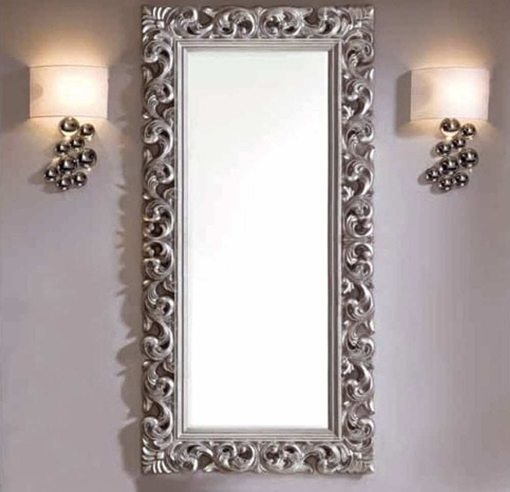 miroir baroque argent id es de d coration int rieure french decor. Black Bedroom Furniture Sets. Home Design Ideas
