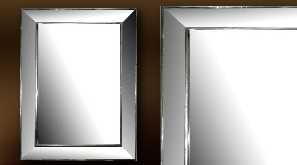 miroir rectangulaire argent id es de d coration int rieure french decor. Black Bedroom Furniture Sets. Home Design Ideas