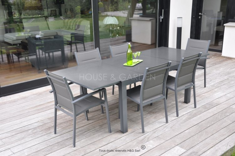 promo salon de jardin aluminium id es de d coration int rieure french decor. Black Bedroom Furniture Sets. Home Design Ideas