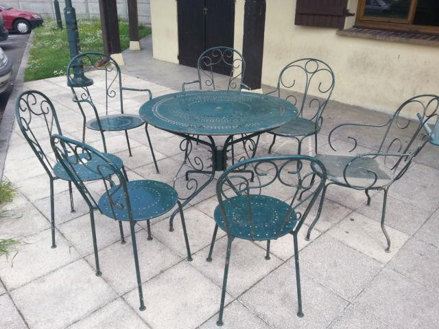 Salon Jardin Fer Forge