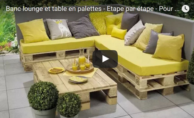 awesome salon de jardin lounge en solde images amazing. Black Bedroom Furniture Sets. Home Design Ideas