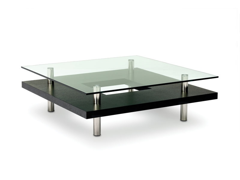 table basse verre carr e id es de d coration int rieure french decor. Black Bedroom Furniture Sets. Home Design Ideas