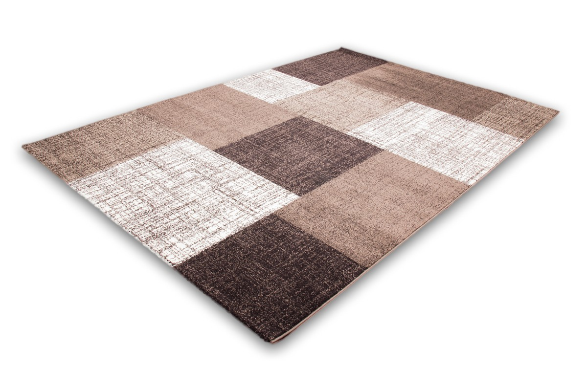 Bon Tapis Salon Beige Marron