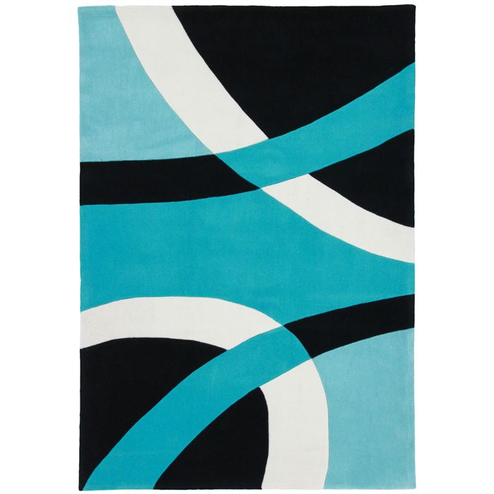 tapis salon bleu turquoise id es de d coration. Black Bedroom Furniture Sets. Home Design Ideas
