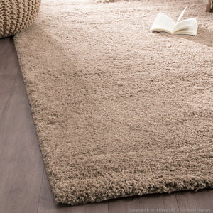 tapis shaggy taupe - Tapis Shaggy