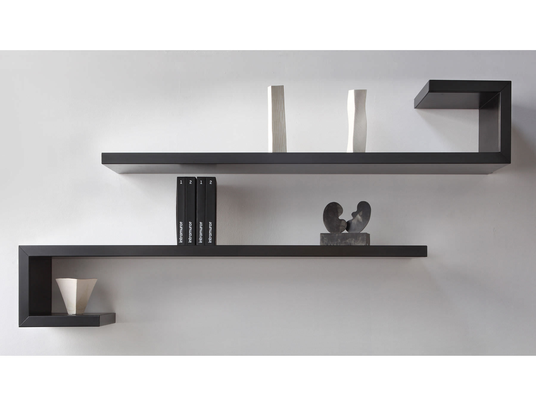 etagere murale design moderne id es de d coration. Black Bedroom Furniture Sets. Home Design Ideas