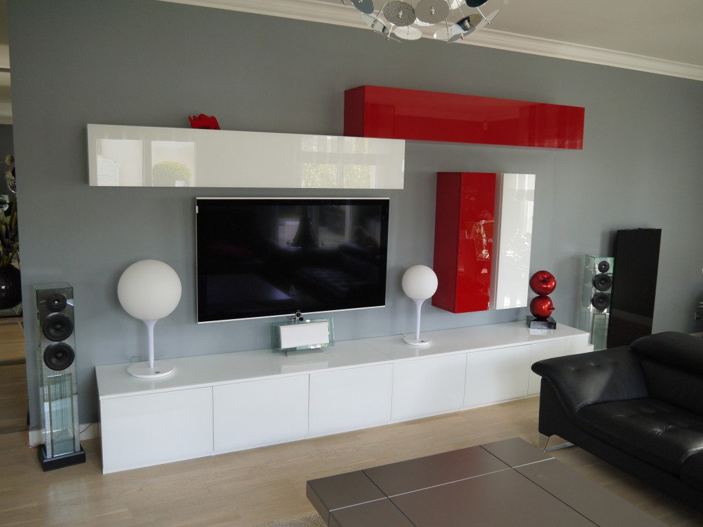 Meuble Living Tv Moderne Idees De Decoration Interieure French Decor