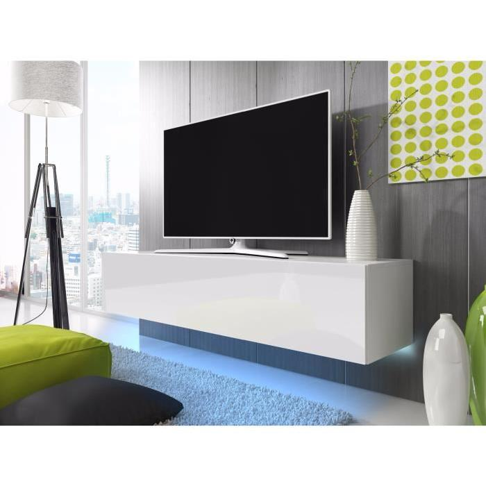 meuble tele suspendu pas cher id es de d coration int rieure french decor. Black Bedroom Furniture Sets. Home Design Ideas