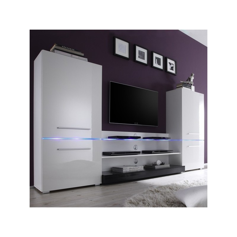 meuble tv blanc avec rangement 16 id es de d coration int rieure french decor. Black Bedroom Furniture Sets. Home Design Ideas