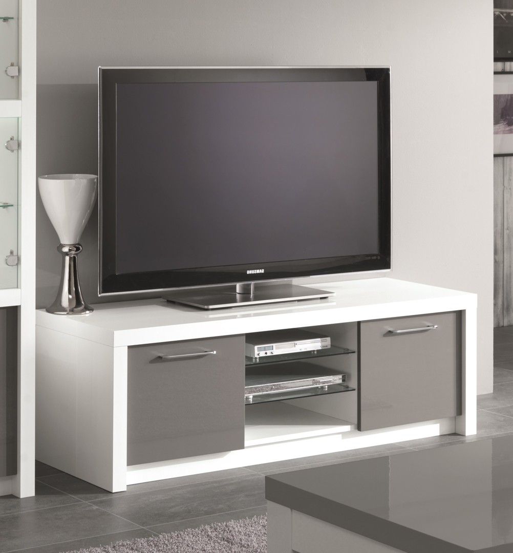 meuble tv gris pas cher id es de d coration int rieure french decor. Black Bedroom Furniture Sets. Home Design Ideas