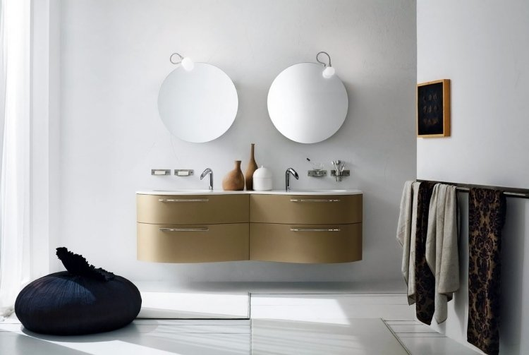 miroir rond salle de bain id es de d coration int rieure french decor. Black Bedroom Furniture Sets. Home Design Ideas