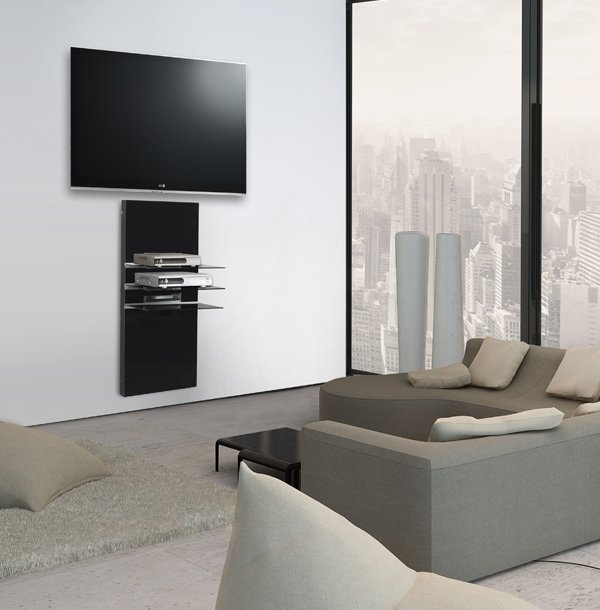 petit meuble tv mural id es de d coration int rieure french decor. Black Bedroom Furniture Sets. Home Design Ideas