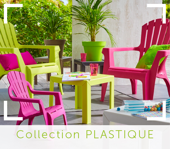 Chaise salon de jardin couleur - veranda-styledevie.fr